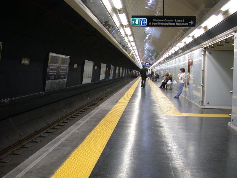 metronapoli subway 2008 napoli