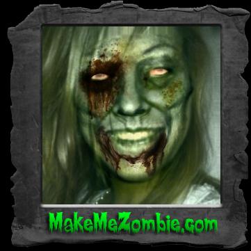 Me stessa zombificata