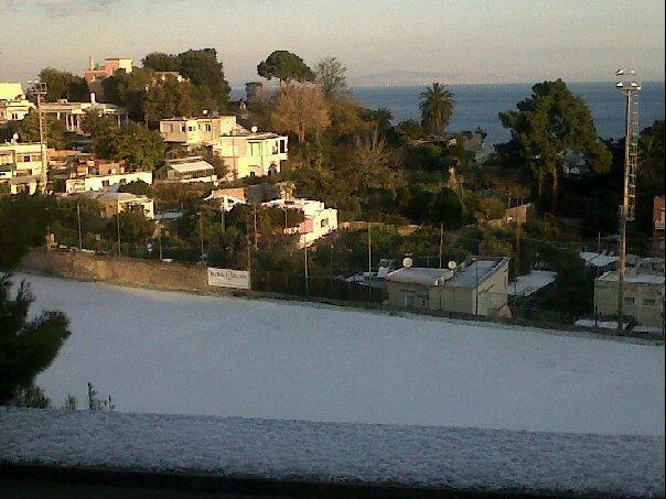 Neve a Capri