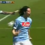 Cavani Napoli Lazio