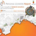 pista ciclabile a Napoli