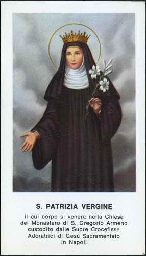 Santa Patrizia 25 agosto
