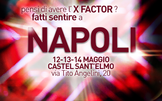 X FACTOR NAPOLI 2013