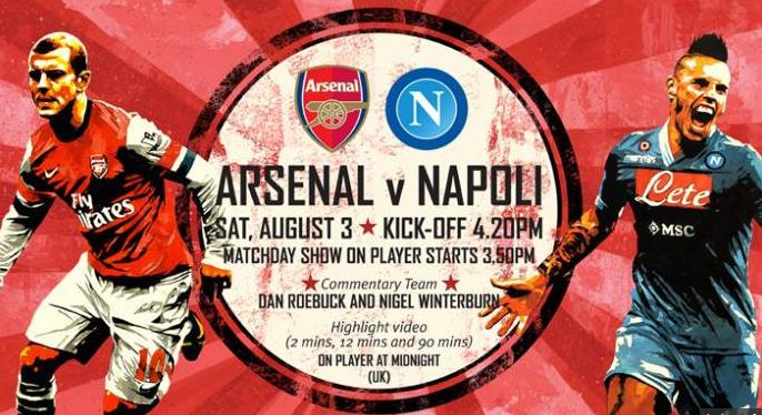 Napoli Arsenal Streaming e Diretta Tv