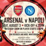 Napoli Arsenal streaming