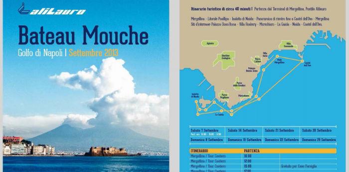 Bateau Mouche - Golfo di Napoli