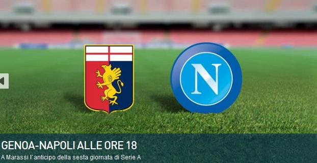 Genoa Napoli streaming