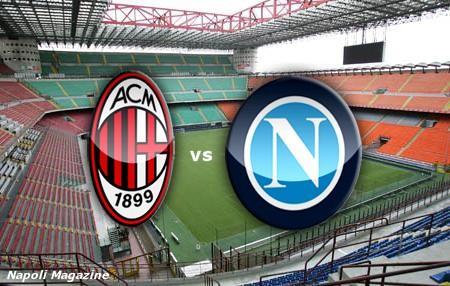 Milan Napoli Streaming diretta Tv