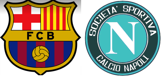 Barcelona-Napoli streaming