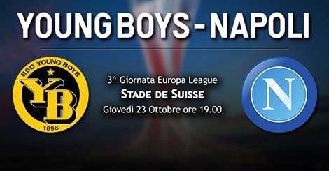 Young Boys-Napoli le formazioni ufficiali