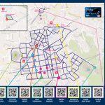 Mappa della Notte Bianca al Vomero 2014