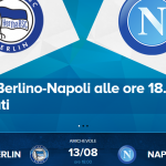 hertha berlino-napoli streaming sky