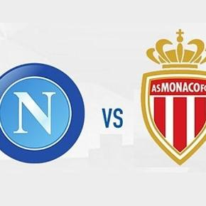 napoli monaco streaming