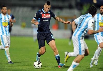 Hamsik, nella partita d'andata Pescara-Napoli