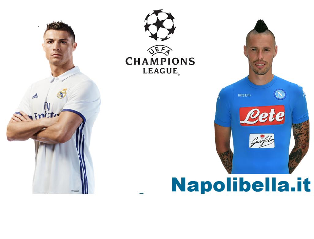 Real Madrid- Napoli