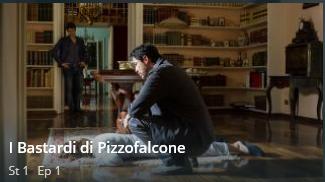 """Guarda il primo episodio in streaming dei """" Ibastardi di Pizzofalcone"""""""