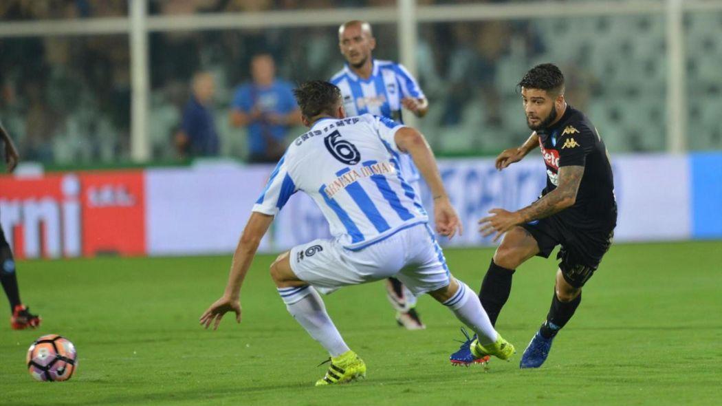 Insigne, nella partita d'andata Pescara-Napoli