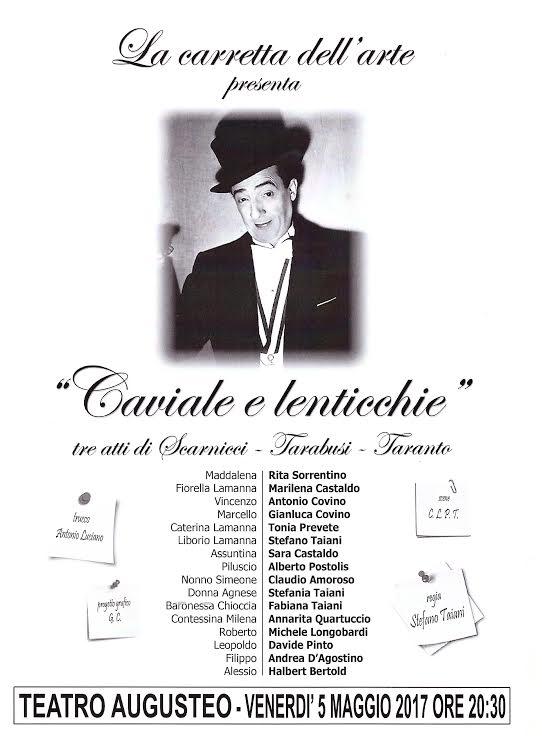 Nino Taranto, Caviale e lenticchie