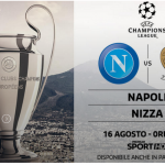 Napoli-Nizza streaming e diretta TV