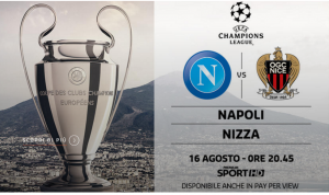 Napoli-Nizza streaming e diretta TV