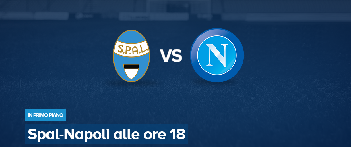 Spal-Napoli streaming