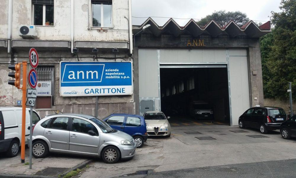 Chiusura deposito Garittone ANM