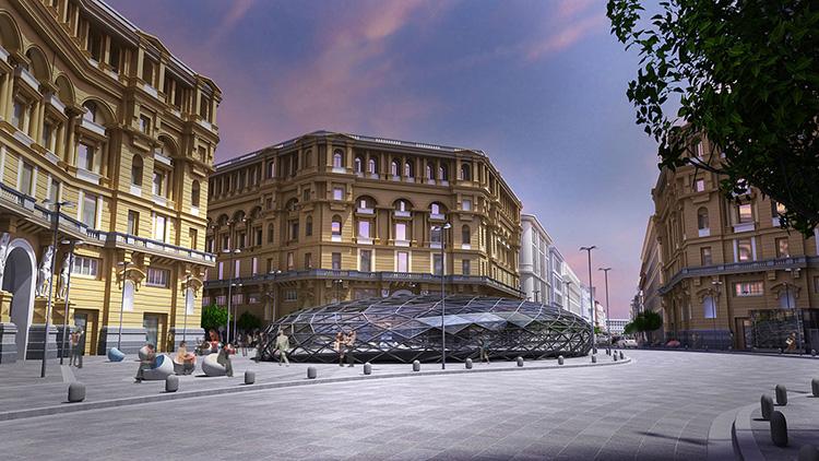 Stazione Metropolitana Duomo Napoli