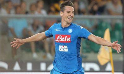 probabili formazioni Sampdoria Napoli Milik dal primo minuto