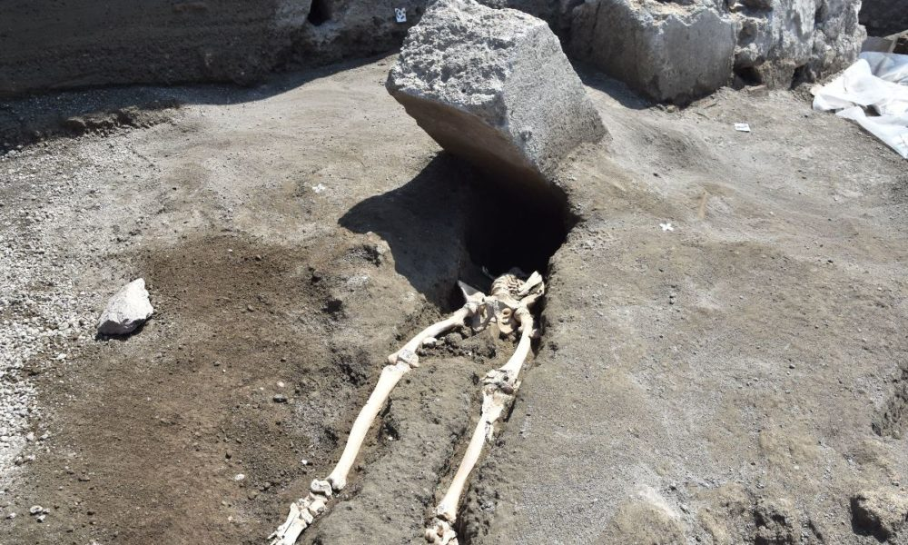 ultimo fuggitivo Pompei